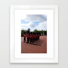 Soldiers March 10 Framed Art Print