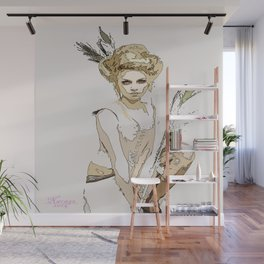 For The Love Of Pink Wall Mural