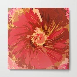 Fall Flower Metal Print