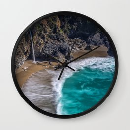 Pritty Wave Wall Clock