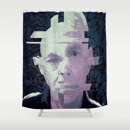 Eno deconstruct Shower Curtain