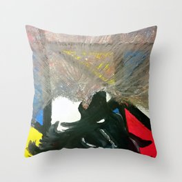 howl out Throw Pillow