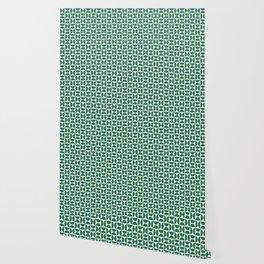 HALF-CIRCLE, TEAL Wallpaper