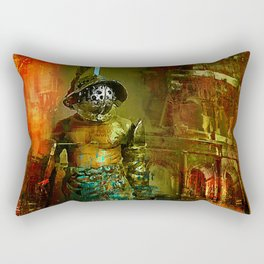 The last gladiator Rectangular Pillow