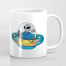 "Alien Spaceship ""Warp Speed"" Coffee Mug"