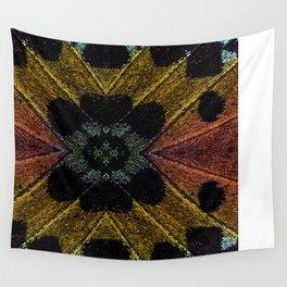 Butterfly Garden Vortex Wall Tapestry