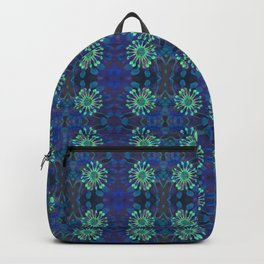 Neo-Tribal Floral Print Backpack