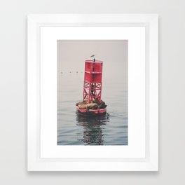 Ocean Sleep Framed Art Print