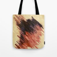 woman Tote Bags featuring Woman by SensualPatterns
