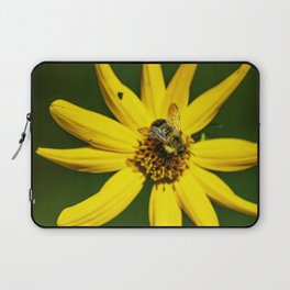 The Bumble and The Sunflower #1 Laptop Sleeve