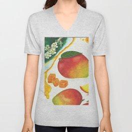Mangoes  Unisex V-Neck