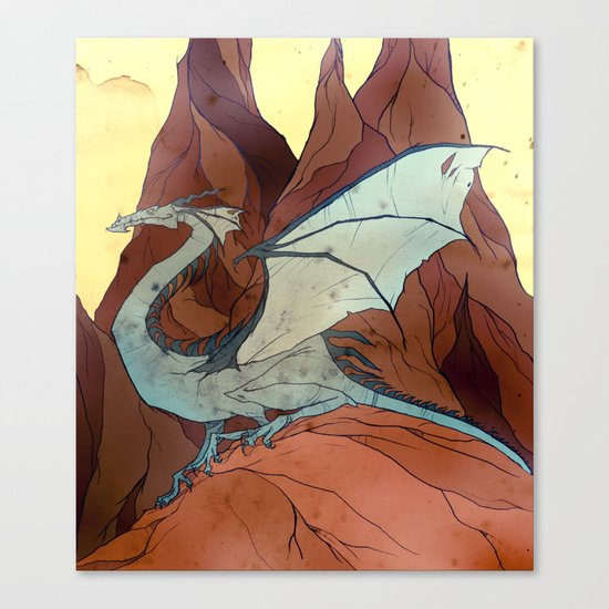 Mountain Dragon Canvas Print