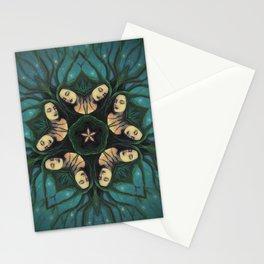 Coven // Woman Feminine Goddess Sister Witch Circle Spirit Sacred Magic Energy Healing Power Women Stationery Cards