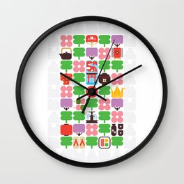 Japan Day Wall Clock
