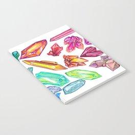 Crystal Rainbow Pride Notebook