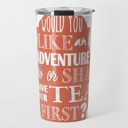 J. M. Barrie Quote Travel Mug