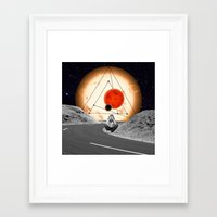 alone Framed Art Prints featuring Alone by Cs025