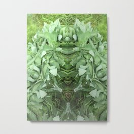 Knight Of The Green Metal Print
