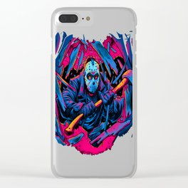 FRIDAY THE 13TH FORCEFUL ENTRY Clear iPhone Case
