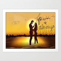 Forever & Always Art Print