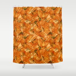 Shifting Gold Shower Curtain