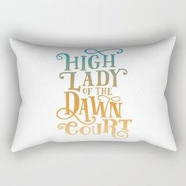 High Lady Dawn Court ACOTAR Rectangular Pillow
