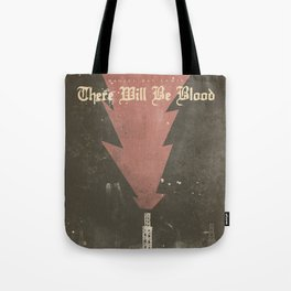 There will be blood, alternative movie poster, Daniel Day Lewis, Paul Thomas Anderson, Paul Dano Tote Bag