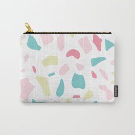 Terrazzo, Abstract - Pastels Carry-All Pouch