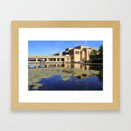 Het Gemeentemuseum Framed Art Print