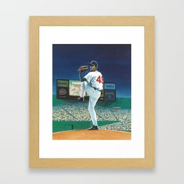 Growing Up Pedro cover Framed Art Print