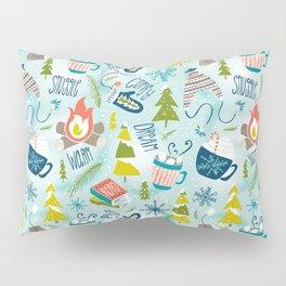 Snow Day Hooray! Pillow Sham