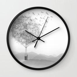 Dandelion Sketch Wall Clock
