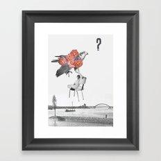 L'aigle Framed Art Print