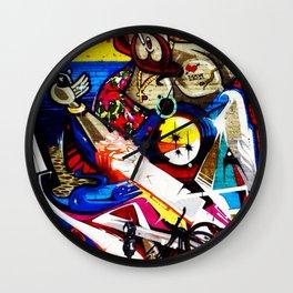 Hipster Jesus  Wall Clock