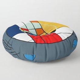abstract art geometric Floor Pillow