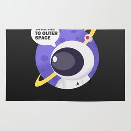 Take me to outer space ! Rug