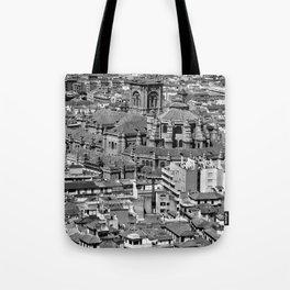 Cityscape - Granada Tote Bag