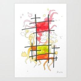 No. 4: Diarra Art Print