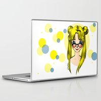 sailormoon Laptop & iPad Skins featuring Usagi Sukino by Sailisally