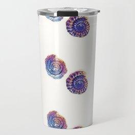 Rainbow ammonite Travel Mug
