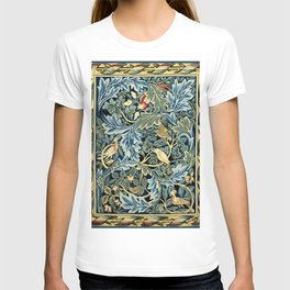 """William Morris """"Birds and Acanthus"""" T-shirt"""