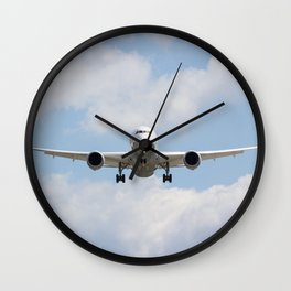 United airlines Boeing 787 Wall Clock