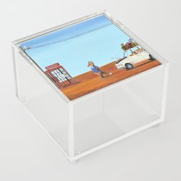The Out of Service Phone Box Acrylic Box