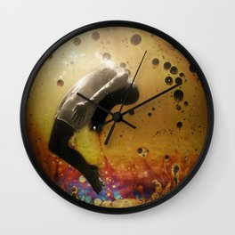My Own World Wall Clock