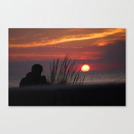 SunDowner Dude Canvas Print