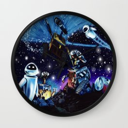 Wall-E Collage Wall Clock