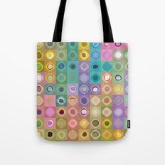Geometric Color Tote Bag