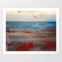 Ranchero Art Print
