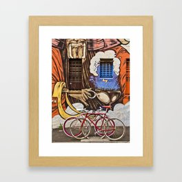 Seeing double (South Melbourne, 2012) Framed Art Print