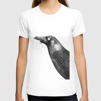 crow T-shirts featuring Crow by asli yazicioglu